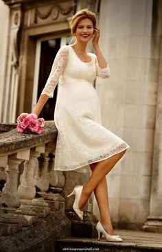 a52a7c3acd Splendidi abiti da sposa di maternità di Tiffany Rose