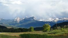 Uncompahgre Mountains, Colorado