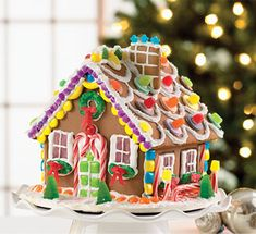 gingerbread houses pictures | Gingerbread house decorating contest | King Arthur Flour