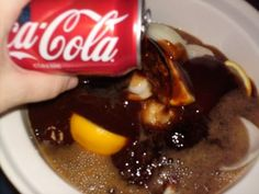 """Slow Cooker Coke Chicken ~#1 On My List Of """"Things I like to toss in the crock pot."""" 