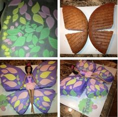 diy butterfly cake - Google Search