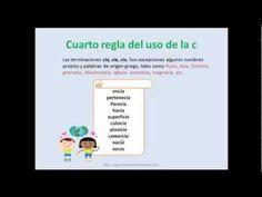 El buen uso de las letras S y C por Lelldy González
