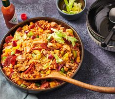 Caribbean Recipes, No Cook Meals, Love Food, Food Inspiration, Slow Cooker, Chicken Recipes, Jambalaya Recept, Curry, Food And Drink