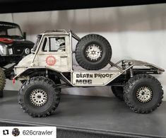 "Scale Built RC on Instagram: ""After US customs impounded the parcel for a couple of days (toxic substance apparently 🤔) @626crawler has finally taken delivery of the…"""