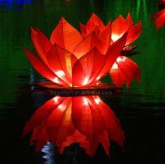 Chinese Floating Water Lanterns