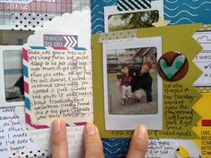 Amy Tangerine daybook! The coolest way to document a little trip and include all the bits.