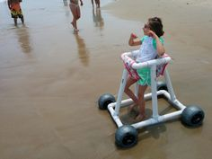 hatchthatidea.com. Beach walker for special needs.