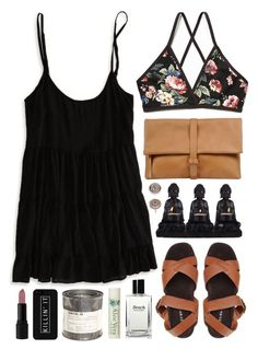 Killin' it by sophiehackett on Polyvore featuring polyvore fashion style American Eagle Outfitters Free People Jeffrey Campbell MM6 Maison Margiela Anne Klein LG INIKA Bobbi Brown Cosmetics Alöe Le Labo