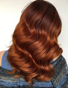 Long Copper Red Balayage Hair Dyed Tips, Hair Dye Tips, Hair Color Shades, Red Hair Color, Medium Auburn Hair Color, Red Color, Auburn Hair Dye, Auburn Hair Balayage, Balayage Hairstyle