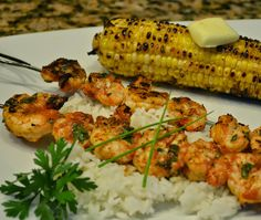 Kim's Cooking Now!: My Favorite Grilled Shrimp