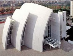 Proyecto para Jubilee Church, Roma por Richard Meier #tendencias #arquitectura …