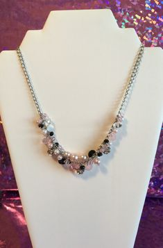 A personal favorite from my Etsy shop https://www.etsy.com/listing/289816113/pearl-tones-grape-necklace-fashion-with
