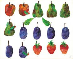 very hungry caterpillar fruit printables - Yahoo Image Search Results Very Hungry Caterpillar Printables, Hungry Caterpillar Food, Caterpillar Book, Eric Carle, Baby Birthday, 1st Birthday Parties, Birthday Ideas, Fruit Picture, Kids Story Books