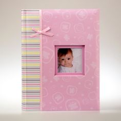 Różowy album na zdjęcia dziecka