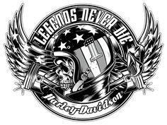 Awesome Harley-Davidson Logo found on Pinterest.