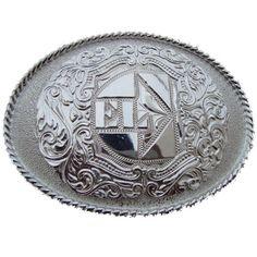 NM-06-Silver – Limited Edition -2012 - El Charro - a leggenda racconta che tutto ebbe inizio in Messico. Questa fibbia disegnata e prodotta in quella terra lontana, racchiude la storia di un mito.  Questa versione Silver della fibbia NM06 è  stata realizzata nel 2012, in alpaca (no nickel free) e ne sono stati prodotti solo 30 pezzi.
