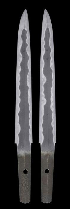 Japanese short sword, Tantou 短刀, made by Tadamasa, Edo period