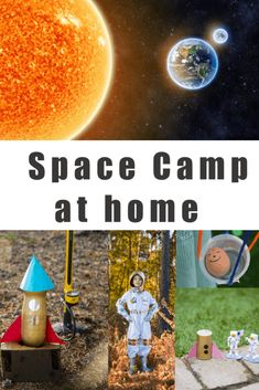 DIY Space Camp - Space Science for Kids - Science Sparks - Elemental Science - DIY Space Camp - Space Science for Kids - Science Sparks Space Science Experiments for Kids - Make a DIY Space Camp for kids in the garden this summer! Earth Science Projects, Science Week, Summer Science, Science Experiments Kids, Science For Kids, Science Diy, Science Space, Space Activities For Kids, Camping Activities