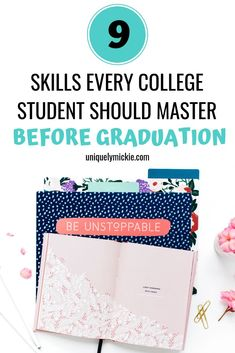 Before going out into the real world prepare yourself by mastering these 9 skills that'll be super easy for your career and for your personal life. College Life Hacks, College Fun, College Students, College Tips, College Survival Guide, College Supplies, Pharmacy School, Writing A Cover Letter, Graduation Post