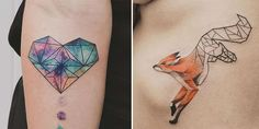 13 Fascinating Geometrical Tattoos by Jasper Andres