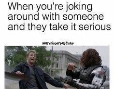 Hahaha Steve's face!!!!