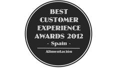 Best Customer Experience Awards, Spain 2012, Categoria Alimentación