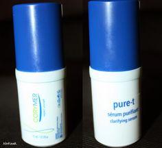 Le petit monde de Natieak: Corymer Gamme Pure-T: le sérum purifant pour dire bye bye aux boutons. #acnée #serum #purifiant #corymer #boutons