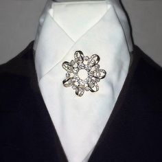 Gold Plated ribbon with rhinestone inlay AUD$29.95