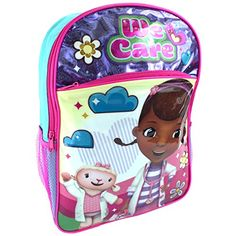 ded2a08b273 Disney 16 inch Backpack (Doc McStuffins We Care)