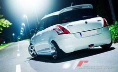 The only Japanese drift material car in hatchback! Suzuki Swift!