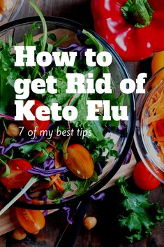 You just started Keto and you feel like crap. Congrats, you have Keto Flu! Here's how to get rid of Keto Flu in 6 easy steps. #keto #ketogenicdiet #ketogenic #ketdiet #ketolifestyle