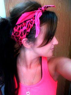 Hair do with Bandana :)