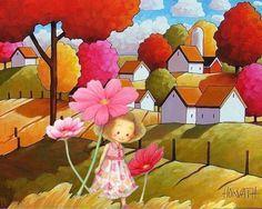 Camino de flores