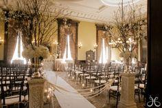 Beautiful Ceremony Decor - Canfield Casino