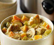 Recettes Santé : Ragoût de poulet campagnard à la mijoteuse (Mijoteuse)