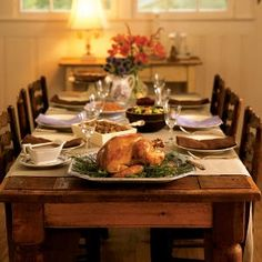 Thanksgiving Table ~ see more... http://wp.me/p1N64P-pK