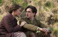 Alicia Vikander (Vera Brittain) & Kit Harington (Roland Leighton) - Testament of Youth (2015) directed by James Kent
