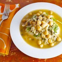 Vegan Chickpea Piccata