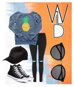 """""""Wild!"""" by maryheiddal on Polyvore featuring Jaeger, Topshop, Converse, River Island and Yves Saint Laurent"""