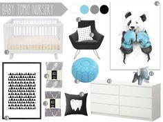 Baby Tomo Nursery #1 with Babyletto Hudson Crib