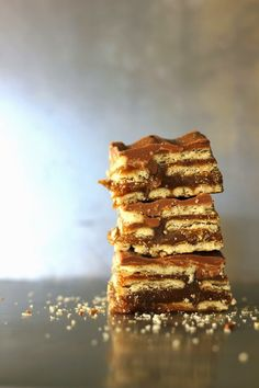 Salt River Bars - better than a Twix! chocolate, peanut butter, butterscotch, caramel & club crackers! A must make! bakedinaz.com