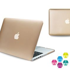 """iBenzer 2 in 1 Soft-Touch Plastic Hard Case and Keyboard Cover for Macbook Pro 13.3"""" with Retina Display (A1502 / A1425) - Gold * Find out more details @ http://www.passion-4fashion.com/handbags/ibenzer-2-in-1-soft-touch-plastic-hard-case-and-keyboard-cover-for-macbook-pro-13-3-with-retina-display-a1502-a1425-gold/?uv=100716234529"""