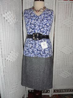 This is another ensemble for Doncaster's 8 GR8 Style Pieces. Includes: Suit Skirt, Suiting Blouse, Belt and necklace.