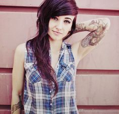 Proof that heavily tattooed women are beautiful too. Lights <3