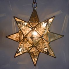 Shop Quintana Roo  9640 Glass Moravian Star Pendant at ATG Stores. Browse our mini pendant lights, all with free shipping and best price guaranteed.