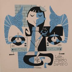 by Derek Art. #music #artwork #musicart www.pinterest.com/TheHitman14/music-art-%2B/