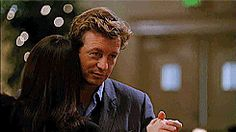love dancing the mentalist simon baker patrick jane teresa lisbon #gif from #giphy