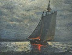 JAMES GALE TYLER   Moonlight Sail