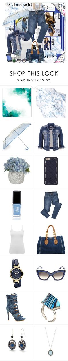 """Got a love denim"" by marleen1978 ❤ liked on Polyvore featuring Metropolis, Alice by Temperley, Levi's, New Look, maurices, Tory Burch, Elite, JINsoon, J Brand and M&Co"