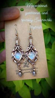 Industrial Jewelry, Copper Jewelry, Artisan Jewelry, Handmade Jewelry, Diy Earrings Studs, Macrame Bracelet Diy, Wire Jewelry Designs, Fantasy Jewelry, Bracelet Tutorial